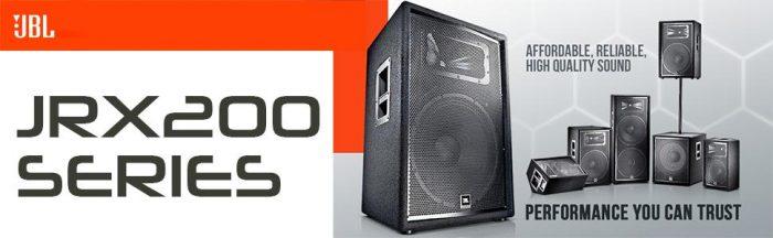JBL2 JRX200 Series