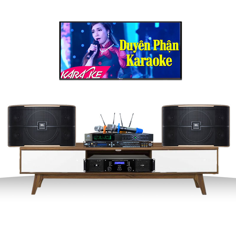 Dàn karaoke JBL gia đình GD02  (Pasion 8, H2400, TF6 Pro, B3 Plus)