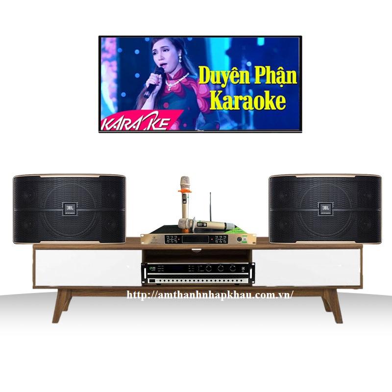 Dàn karaoke JBL gia đình GD07 (JBL Pasion 10 + Kiwi PD8000 + Micro VinaKTV S600 Xmax)