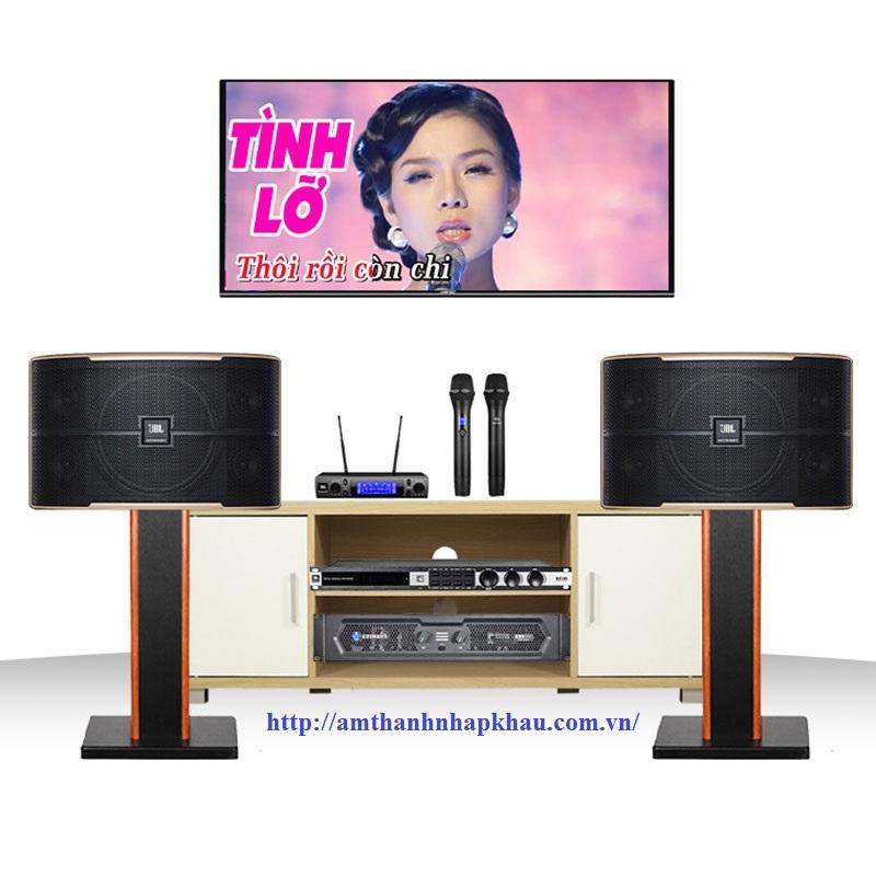 Dàn karaoke JBL Cao cấp GD45 ( JBL Pasion 10, KVS500, KX180, VM300)