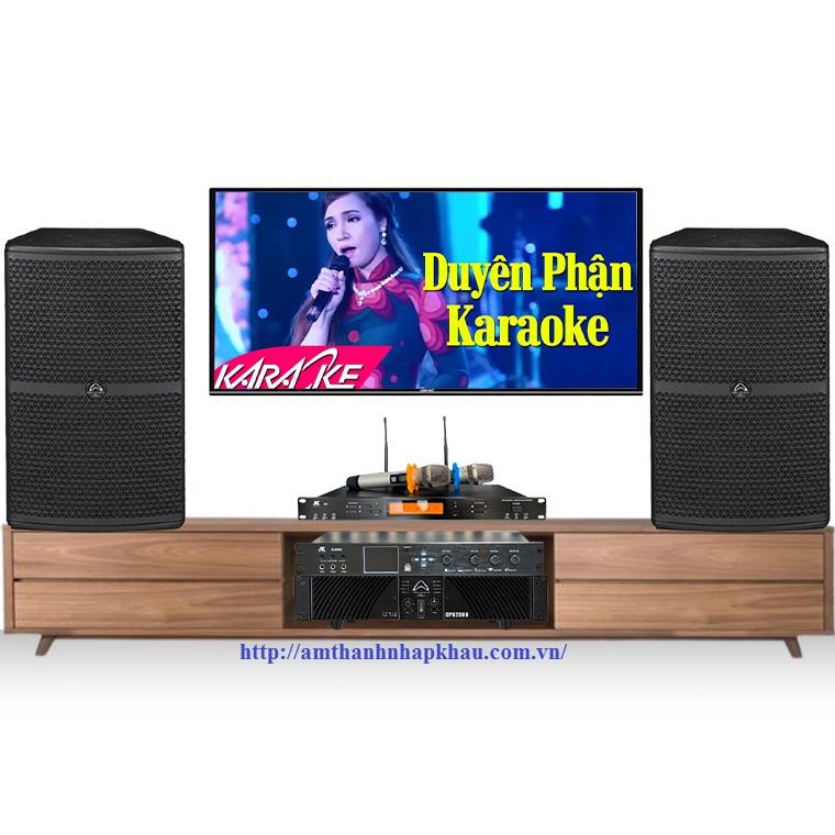 Dàn Karaoke gia đình cao cấp HDR01 (Wharfedale WH12, X8000, CPD2600, JKAudio B9)
