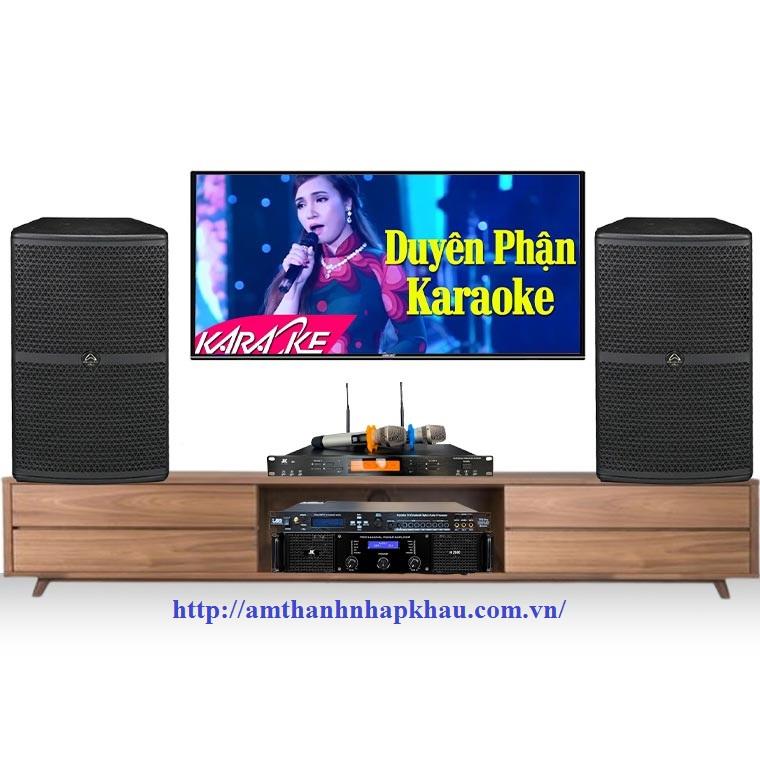 Dàn Karaoke Gia Đình Cao Cấp HDR05 (Wharfedale WH10, TF6 Pro, H2600, JKAudio B9)