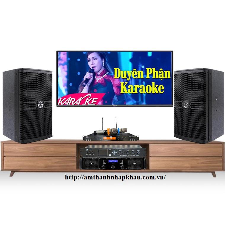 Dàn Karaoke gia đình cao cấp HDR17 (Wharfedale ANGLO X12A, JKAudio H2800, X8000, B9)