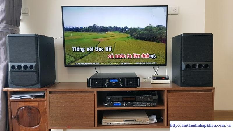 Dàn karaoke gia đình GD 56 (Wharfedale 5090, H2600, TF6 Pro, B5 Plus)