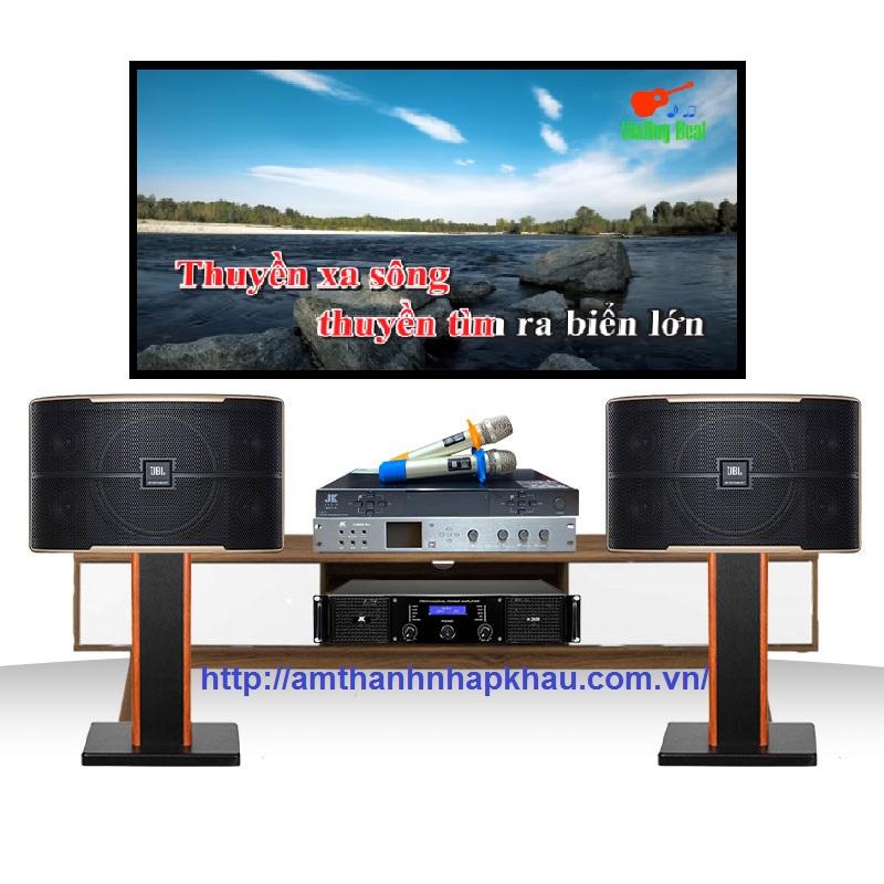 Dàn Karaoke JBL gia đình GD09 (Pasion 10, H2400, X6000 pro, B5 Plus)
