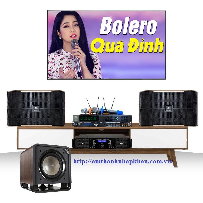 Dàn Karaoke JBL gia đình GD25 ( Pasion 10, H2400, TF6 Pro, B3 Plus, LHTS10)