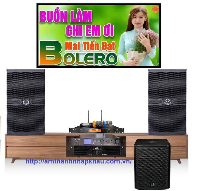Dàn Karaoke Gia đình cao cấp HDR10 (Wharfedale Anglo12 UK, Wharfedale AX15B, CPD3600, X9000, JKAudio B9)