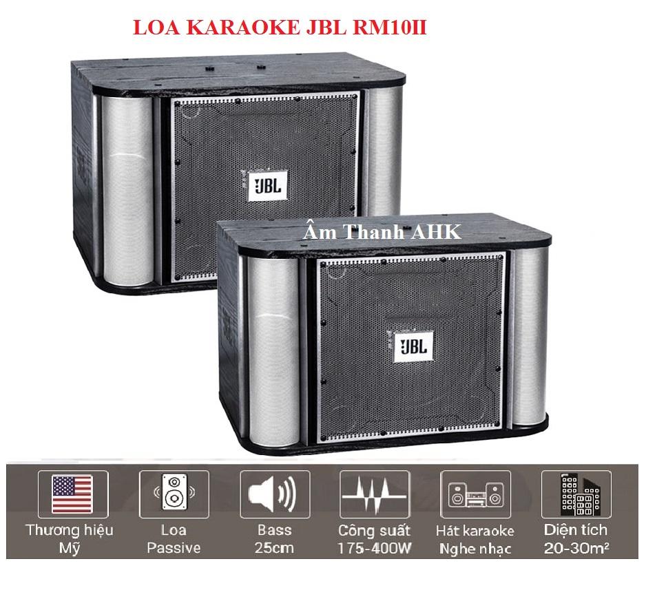 Loa karaoke JBL RM10II (bass 25cm)