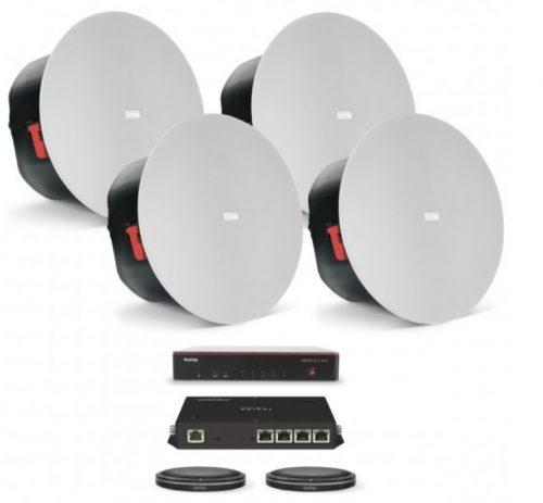 Hệ thống phòng họp trực tuyến Biamp MRB-L-SCX400-T